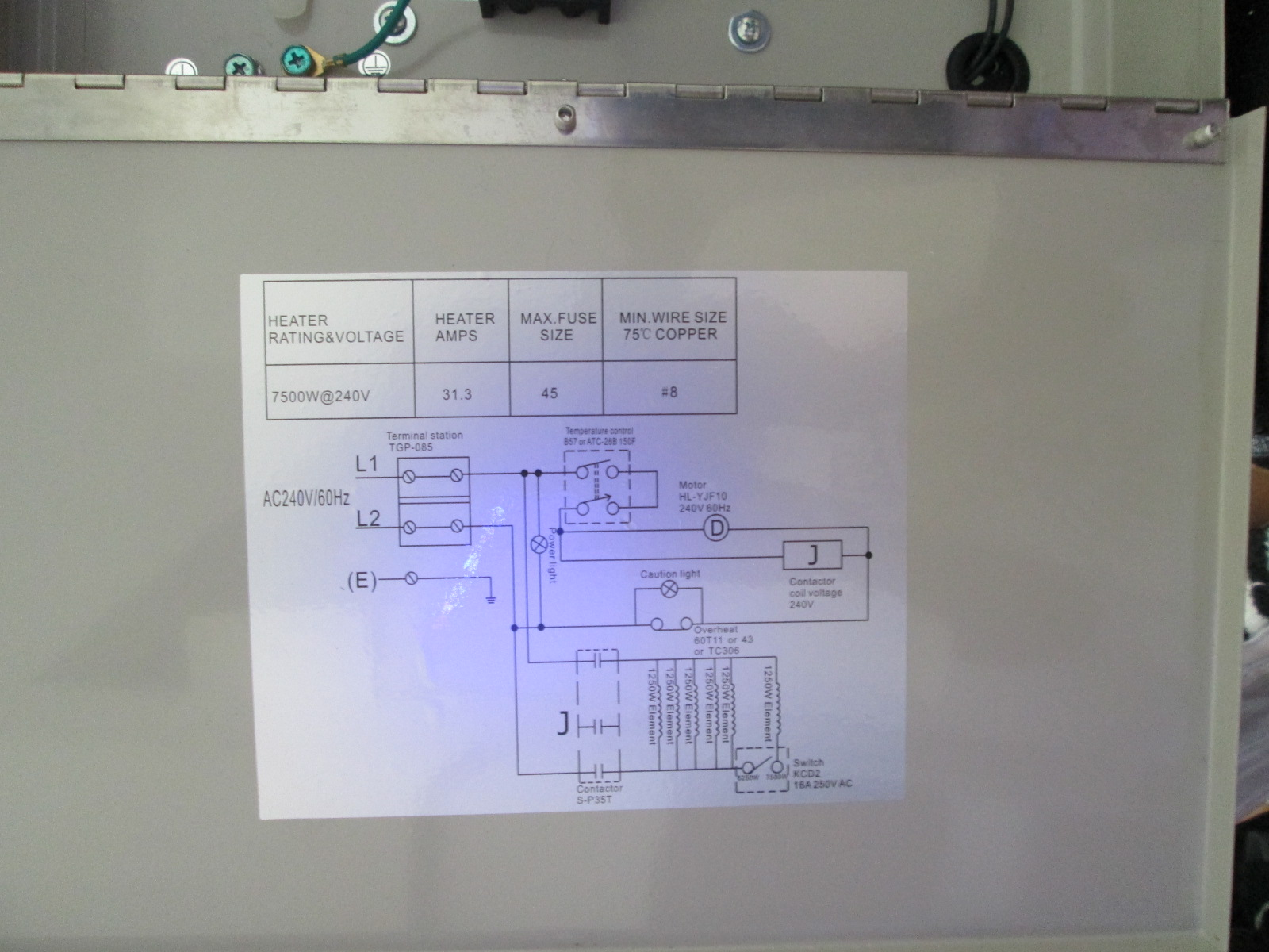 Radiant Heater Wiring - Wiring Diagram M6 on